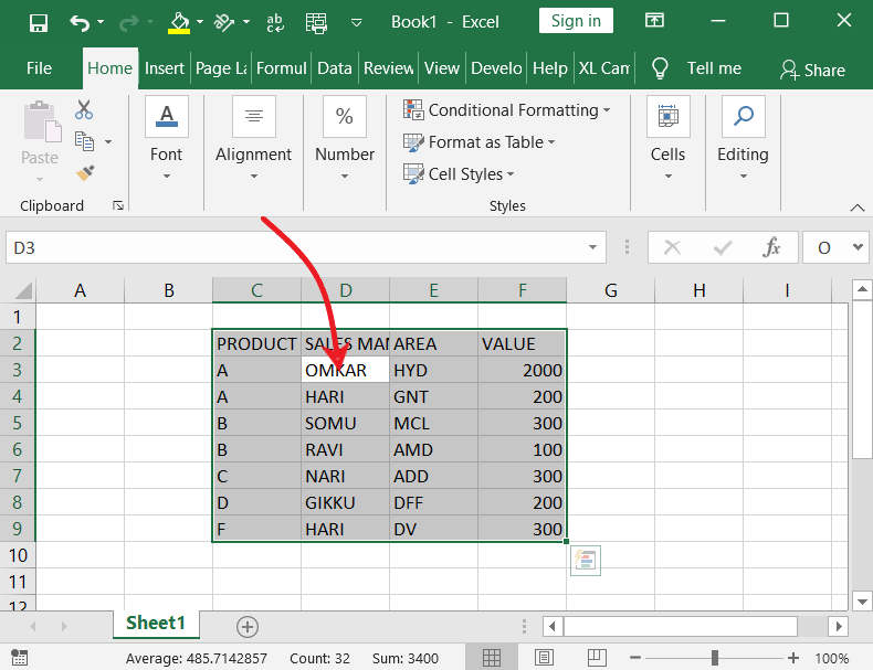 30 Ways to Select Text in MS-Word & Excel 2